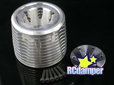 ALUMINUM ENGINE COOLING HEAD AE.21 S ASSOCIATED 1/8 MONSTER GT MGT ALLOY 25311