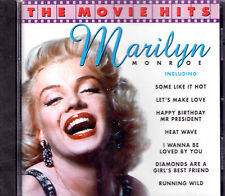 CD 20T MARILYN MONROE THE MOVIE HITS BEST OF 1997 NEUF SCELLE