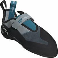 Five Ten Rock Climbing Shoes Mens HIANGLE - Grey/Aqua BC0832