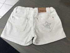 Short en jean blanc PEPE JEANS taille 6 Ans impeccable 45€