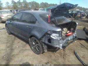2020 2021 Toyota Corolla Quarter Panel Cut Right Passenger Side