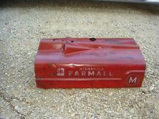 Vintage IH McCormick Farmall  M Rat Rod Man Cave Tractor Hood