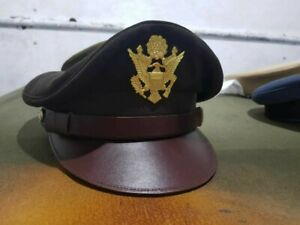 Ww2 US Army Air Corps Officer Crusher Hat Military Cap All Sizes