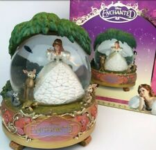 Disney Store Large Enchanted Giselle and Woodland Friends Snow Globe 2008 Rare!