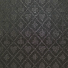 PRO Suited Speed Cloth for Poker Tables - Solid Black (9 Feet)