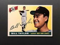 1955 Topps #53 Bill Taylor New York Giants EX+
