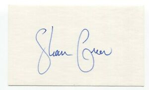 Shawn Green Signed Index Card Autographed Baseball 4 HR's in One Game