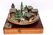 Reuge The Sound of Music Swiss Music Box Trinket Boxes EJB OOAK Chalet Village