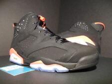 2014 Nike Air Jordan VI 6 Retro BLACK INFRARED 23 RED PINK WHITE 384664-023 10.5