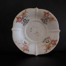 Assiette céramique faïence art nouveau vintage fait main France