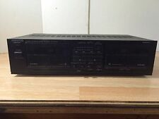 Vintage Kenwood KX-78CW Twin Record Stereo Dual Cassette Tape Deck Player