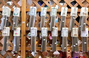"20 sticks 11"" NATURAL INCENSE Paine's Blueberry Cranberry Patchouli Cedar Balsam"