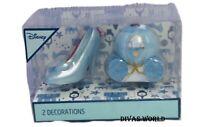 Disney Cinderella 2 PK Christmas Tree Decorations Hanging Ornaments Primark