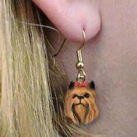 Dangle Style YORKIE YORKSHIRE TERRIER Dog Head Resin Earrings Jewelry