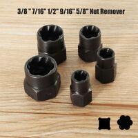 5X/Set Car Locking Wheel Damaged Nut Bolt Remover Stud Extractor Auto Kit