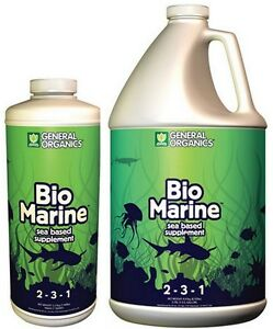 General Organics BioMarine 32 oz / 1 Gallon - Fish Emulsion Fertilizer GH SALE