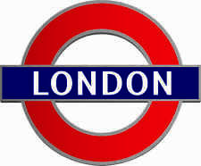 1 x London Underground Decal Car Motorbike Laptop Window Static Cling Sticker