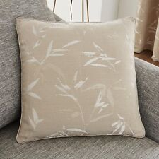 """Sagano Biscuit Luxury Woven Cushion Covers,17""""(43cm) x 17"""" (43cm)"""
