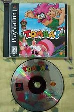 PLAYSTATION 1 PS1 TOMBA GAME TESTED