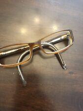 Ray Ban Eyeglasses RB5083 2227 52-16-135 Light Brown Translucent Rectangular G13