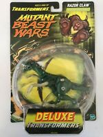 Transformers Mutant Beast Wars Razor Claw Vintage 1999 Action Figure NEW Raptor+