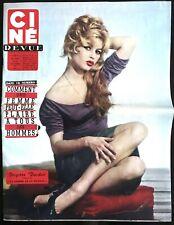 Ciné Revue 28/11/1958; Brigitte Bardot/ E. Constantine/ M. Carol/ Elvis Presley
