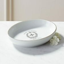 Pier 1 Imports Soap Dish Fleur Collection White Bathroom New