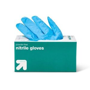 100 Count Nitrile Gloves Powder-Free FDA Approved - Medical Grade - One Size