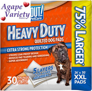 OUT! Heavy Duty XXL Dog Pads | Absorbent Pet Training and Puppy | Basic