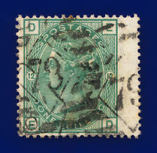 More details for 1875 sg150 1s green plate 12 j112 ed london good used cat £160 dfqn