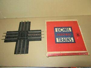 701P 1955'S Lionel 1020 USA Crossing Of Track 90 Degree + Box Zero O