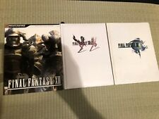 Final Fantasy XII 12 collector's edition strategy guides XIII 13 xiii-2