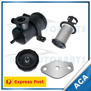 Oil Catch Can & EGR Blanking Plate Kit fit Great Wall V200 X200 2.0L 4Cyl