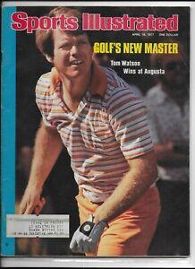 Sports Illustrated April 18 1977 Golfs New Master Tom Watson Wins Augusta NM
