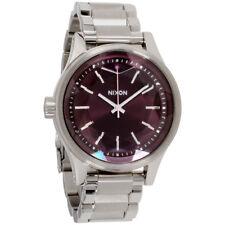 Nixon Facet 38 Purple Dial Stainless Steel Ladies Watch 409215700