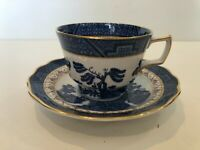 Royal Doulton The Majestic Collection Booths Real Old Willow Cup & Saucer Set