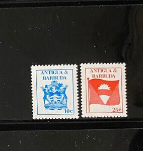 ANTIGUA  988 - 989  Beautiful  Mint  NEVER  Hinged  Set  AG
