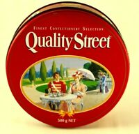 Quality Street Confectionery Selection Round Tin Vintage 1993 Empty Collectable