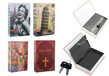Holy Bible Book Safe Discrete Hidden Stash Storage Box Model Pisa Butterfly