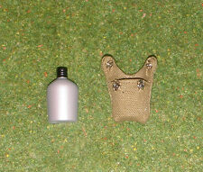 VINTAGE ACTION MAN 40th SOLDIER LOOSE COMBAT FIELD JACKET WATER BOTTLE & COVER