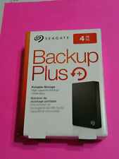 Seagate Backup Plus 4TB External USB 3.0 Portable Hard Drive - Xbox one / PS4