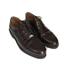 Johnston & Murphy Passport Mens Burgundy Leather Shoes 20-4613 Size 9.5 M