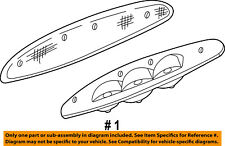 FORD OEM 97-01 Expedition-3rd Third Brake Light-Lamp XL1Z13A613CA