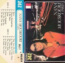 K 7 AUDIO (TAPE)  NANA MOUSKOURI  *A PARIS*  (MADE IN JAPAN)