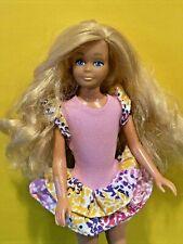 Mattel Barbie Skipper Doll Vintage 1967 Body Long Blonde Wavy Hair! ��