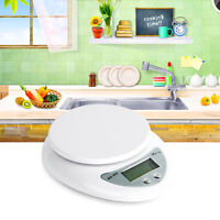 5kg 5000g/1g Digitale Küchenwaage Digital Küche Scale-Waage Kitchen Waagen