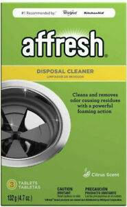 Affresh W10509526 Disposal Cleaner With A Powerful Foaming Action, 3 Tablets