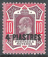 British Levant Edward VII (1902-1910) Stamps