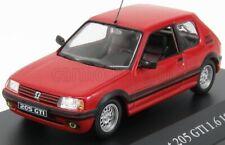 1/43 EDICOLA - PEUGEOT - 205 GTI 1.6 1984