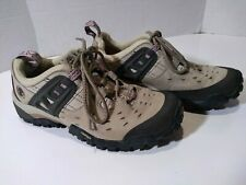 Timberland Womens Hiking Shoes - Size 7 - Tan / Pink - Used (boots)